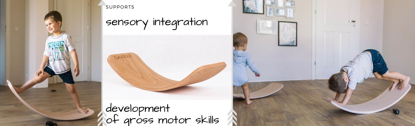 Supports sensory integration